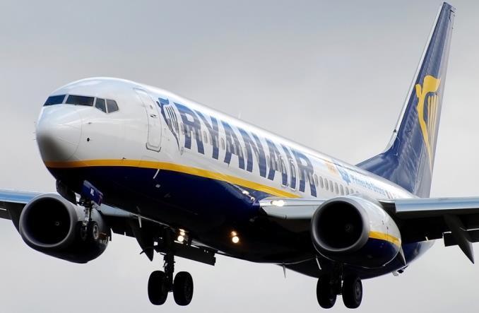 Ryanair объявил себя самой экологической авиакомпанией в Европе