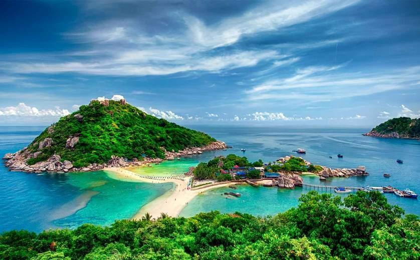 Ко Нанг Юань, Остров Тау, Таиланд